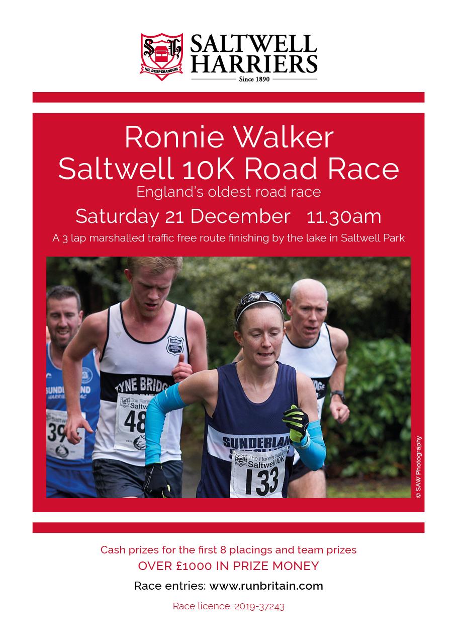 10K Race Flyer – 2019